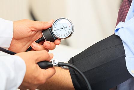 「血圧が高い」と言われた